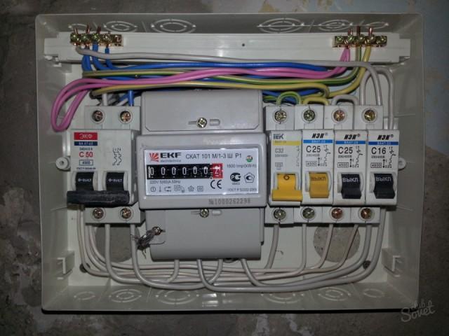 Как самому установить счетчик электроэнергии